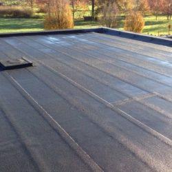 Plat dak roofing