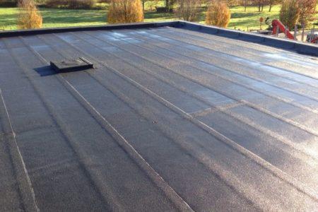 Platte daken Roofing