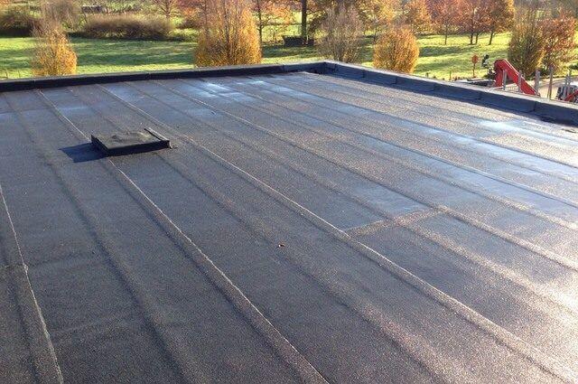 roofing branden plat dak